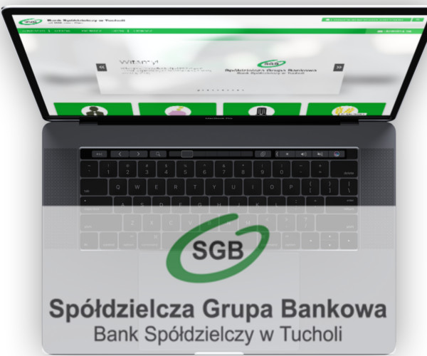 Website for Cooperative Bank in Tuchola